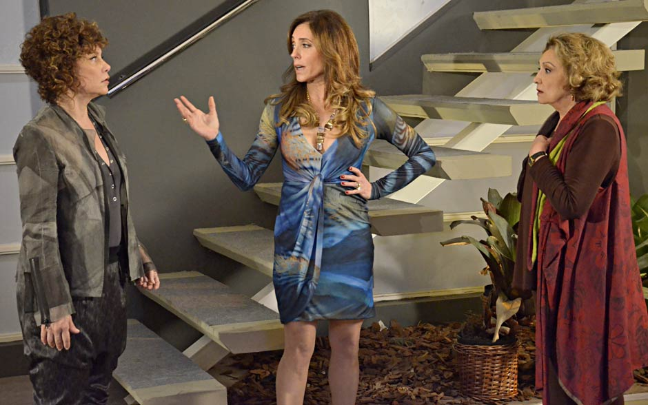 Tereza Cristina explica que se inspirou em Nazaré Tedesco
