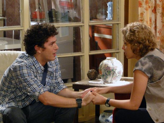 Babi decide contar para Gabriel que ele é o pai do filho que Cristal esperal (Foto: Malhação / TV Globo)