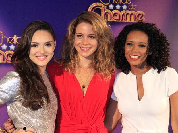 As atrizes Isabelle Drummond, Leandra Leal e Taís Araújo  (Foto: Divulgação/TV Globo)