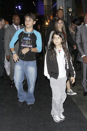 Filhos do Michael Jackson (Foto: Honopix)