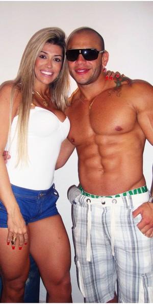 Fernanda do BBB12 e David (Foto: Reprodução/ Reprodução)