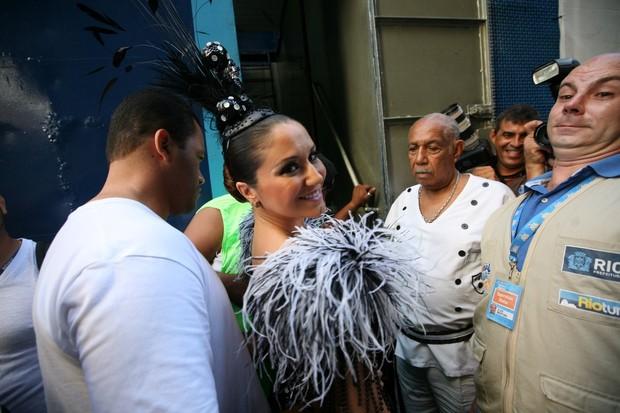 Maria Rita no Desfile do Cordão da Bola Preta (Foto: André Muzell / AlexPalarea/ AgNews)