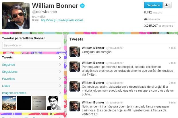 William Bonner certo (Foto: Reprodução/ Twitter)