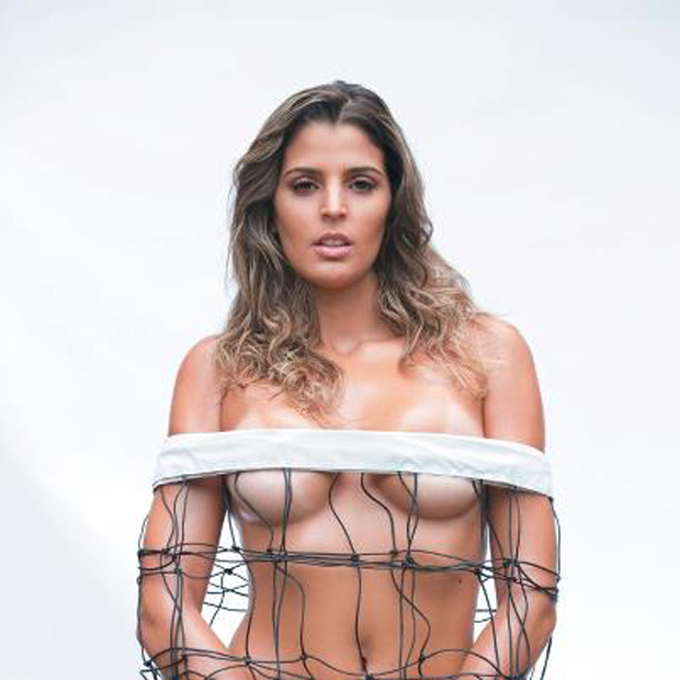 Mari Paraíba em ensaio para a Playboy (Foto: Divulgação / Playboy)