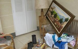Traficante FB é preso em casa de luxo em SP (Foto: Rafael Sampaio/G1)