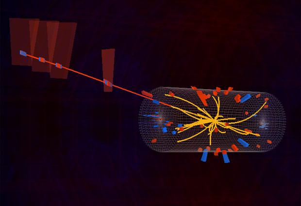 Colisão de prótons no LHC