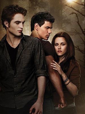 Pattinson, Lautner e Kristen: último filma da série sai no fim de 2011.