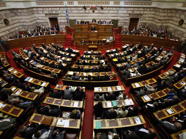 Parlamento grego (Foto: AP)