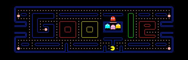 Doodle especial dá acesso a jogo inspirado em 'Pac-Man' com 255 níveis.