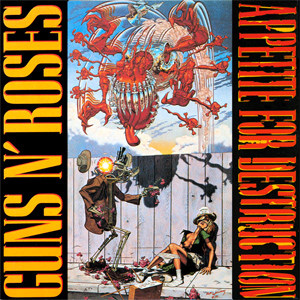 Guns N' Roses - 'Appetite for destruction'