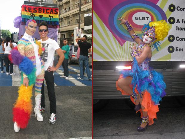 Cerca de 120 mil pessoas são esperadas na tarde deste domingo (4), na 6ª edição da Parada do Orgulho GLBT (Gays, Lésbicas, Bissexuais e Transgêneros) de Niterói