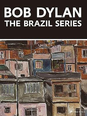 Capa de livro que será lançado em outubro com pinturas de Bob Dylan sobre o Brasil.