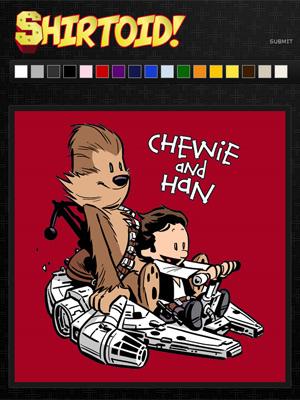 Calvin e Haroldo, Chewie and Han