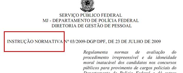 edital polícia federal