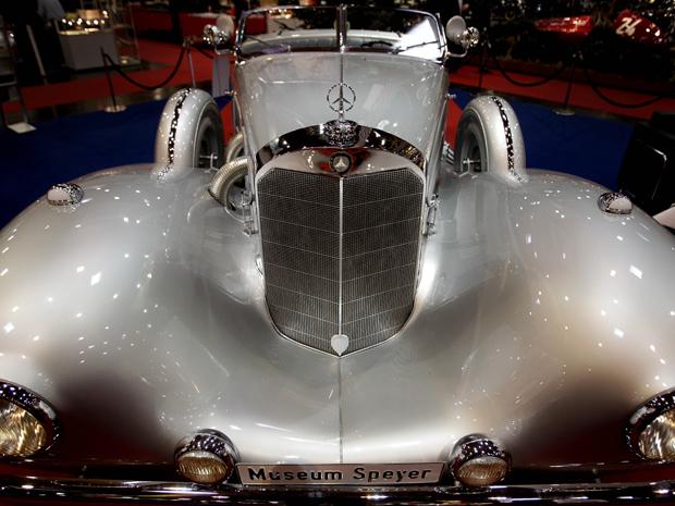 Mercedes-Benz 500 de 1935 também estará em exposição