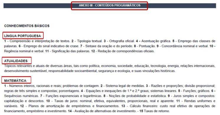 edital banco do brasil conteúdo: edital de concurso, o que é um edital de concurso, ler e entender um edital de concurso,