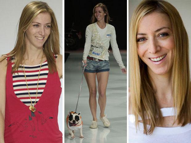A estilista Daniela Conolly no Fashion Rio
