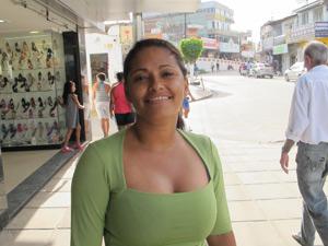 Marli Maria da Silva, ex-doméstica, estagiária no Porto de Suape