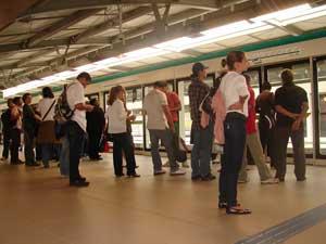 Metrô ficará mais caro a partir deste domingo (Foto: Arquivo/Paulo Toledo Piza/G1)