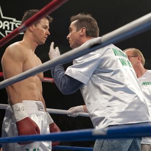 Mark Wahlberg e Christian Bale em cena de 'O vencedor'. (Foto: Divulgação)