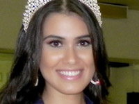 Gabriela Pereira Pais, miss Paraná (Foto: BMW Eventos/Divulgação)