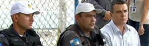 'Cumpri o meu dever', afirma sargento que baleou atirador (Reprodução/TV Globo)