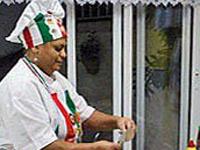 Léa Silva, cozinheira do Vidigal (Foto: G1)
