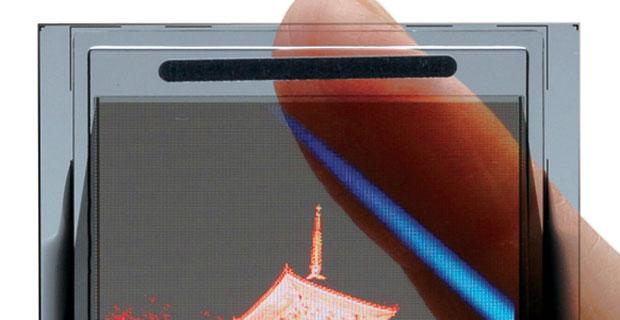Tela semitransparente de celular da TDK chega no segundo  semestre (Foto: Divulgação/TDK)