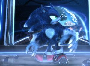 'Sonic Unleashed' tentou inovar, mas não convenceu com um Sonic que virava lobisomem (Foto: Divulgação)