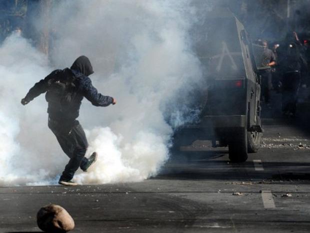 Chile protesto 2 (Foto: Claudio Santana / AFP Photo)