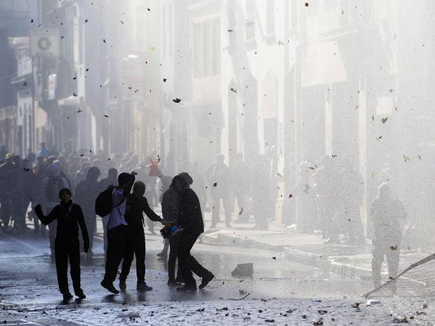Chile protesto 3 (Foto: Ivan Alvarado / Reuters)