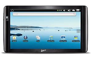 Tablet LeaderPad Cool, da Leadership, tem tela wide (Foto: Divulgação)
