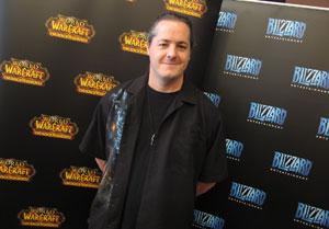 J.Allen Brack veio ao Brasil para o lançamento oficial de 'World of Warcraft' (Foto: Gustavo Petró/G1)
