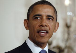 Obama , em pronunciamento (Foto: Reuters)