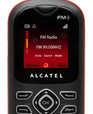 Celular 'descartável' da Alcatel, o one touch 208, chega ao Brasil por R$ 80 (Foto: Divulgação)