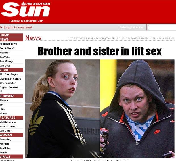 Kirsty e Richard foram flagrados fazendo sexo em estação ferroviária. (Foto: Reprodução/The Sun)