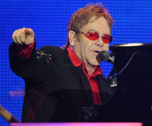 Elton John (Foto: Flavio Moraes/G1)