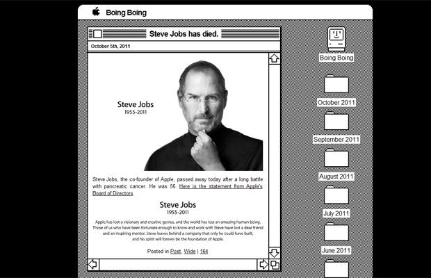 Steve Jobs Boing Boing (Foto: Reprodução)