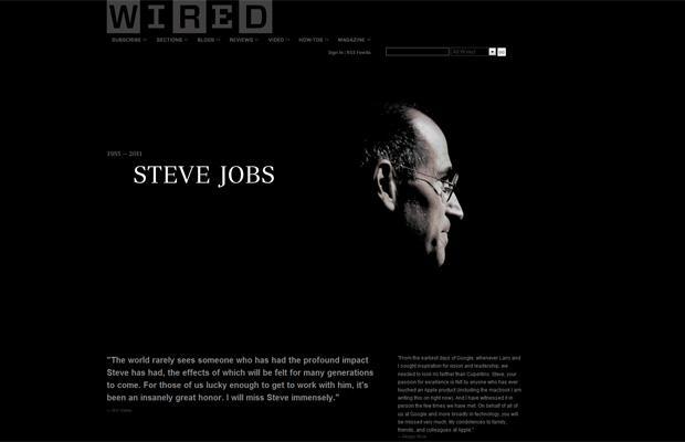 Steve Jobs Wired (Foto: Reprodução)