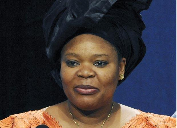 A ativista liberiana Leymah Gbowee em 18 de maio de 2009 (Foto: AP)
