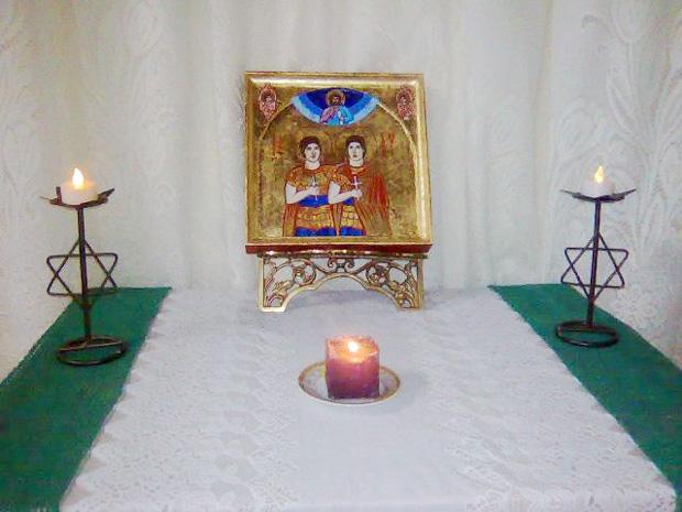 O oratório será abençoado no domingo (9), durante celebração na Capela da Inclusão (Foto: Ingrit Jampietri Paiva)