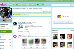 Orkut ainda é a rede social mais visitada pelos brasileiros, segundo pesquisa (Foto: Divulgação)