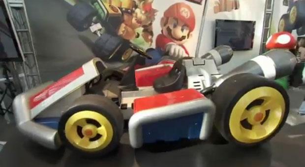 Empresa cria réplica de kart usado por Mario em game (Foto: Reprodução)