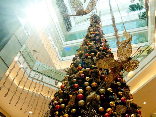 Shoppings ficarão abertos até mais tarde para atender público nas vésperas do Natal (Foto: Flavio Moraes/ G1)