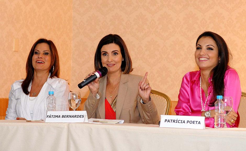 Fátima Bernardes comandará um novo programa. Patrícia Poeta assume o Jornal Nacional e Renata Ceribelli apresentará o Fantástico.