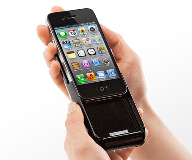 Acessório consegue recarregar em 100% a bateria do iPhone (Foto: Divulgação)