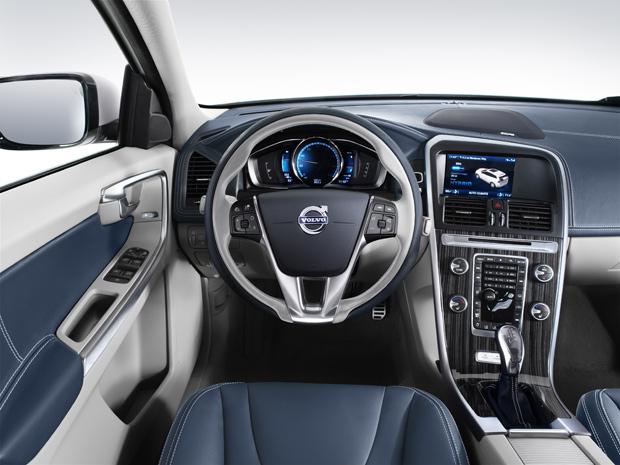 Volvo XC60 Plug-in Hybrid Concept vai ser comercializado, futuramente (Foto: Divulgação)