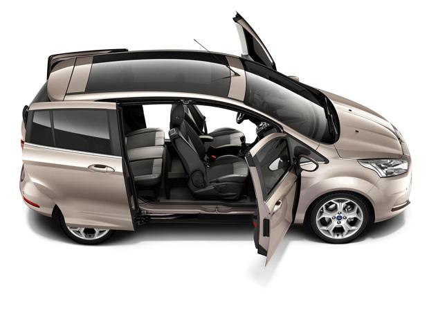 Ford B-Max será lançado na Europa no fim deste ano (Foto: Divulgação)