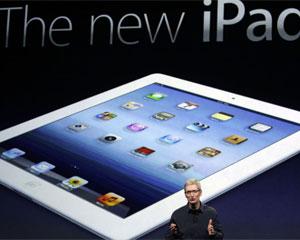 Tim Cook em apresentação do novo iPad, da Apple (Foto: Jeff Chiu/AP)
