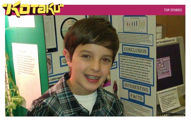 Dylan Viale em foto para o site norte-americano 'Kotaku' (Foto: Reprodução)
